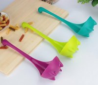 Wholesale Lovely Spoon Creative home Kitchen Cooking tool Nessie Ladle Soup ECO friendly PP material