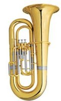 Wholesale Bb Piston Tuba Height mm with Foambody Case Brass Musical instruments