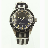 automatic movement men s watch - New Men s Watch Automatic Movement Blue mm dial stainless steel Men watches Gift WristwatcheNew Mr Bond Sea Men s Watch Master OO7 Movie S