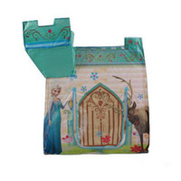 Wholesale Frozen Portable Foldable Play Tent Folding Tent Kids Children Boy Castle Cubby Play House Kids Gifts Outdoor Tent