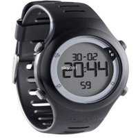 atm rating - 5 ATM waterproof pulsometer heart rate monitor watch with chest band strap men swimming chronograph watch bycicle running watch