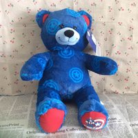 build a bear - Original cm inch Captain America Edition Build A Bear Stuffed animals plush soft doll for Kids gifts