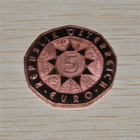 bats dying - VERY NICE COIN AUSTRIA Euro Copper Coin OPERETTA quot DIE FLEDERMAUS quot THE BAT
