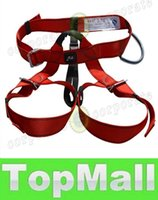 climbing harness - LAI Climbing Mountain Rope Safety Belt Outdoor Belt Body Safety Harness Fall Arrest Protection Climbing Gear Universal Size