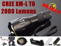 Alonefire battery mounting - G700 E17 Alonefire CREE XM L T6 LM Hard anodized Zoomable CREE flashlight Torch light x18650 battery charger flashlight mount