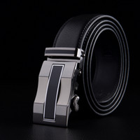 authentic designers - Fashion designer leather strap male automatic buckle belts for men authentic girdle trend men s belts ceinture cinto masculino