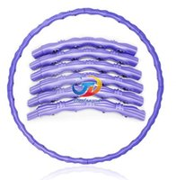 Wholesale Household marbles removable massage Hard tube hula hoop lose weight thin waist slimming ring fitness tool