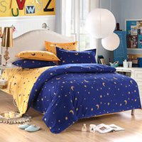Wholesale china bedding set twin Full Queen size duvet cover set reactive printed bed linen flat sheet bedclothes not quilt