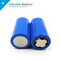 battery discharge c - 3 V Li Ion Rechargeable Battery Fat top Battery C Battery mAh Max A Discharge for Battery Operated Tools