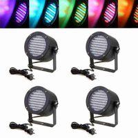 Wholesale 4pcs PAR RGB LED Stage Light DMX Lighting Laser Projector for DJ KTV Club Party Show