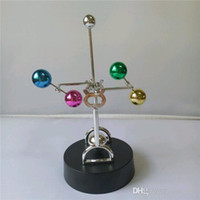 bamboo sphere - Newton s Cradle celestial sphere perpetual instrument students creative novelty send friends personalized birthday gift New Year s