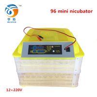 auto egg incubator - 12 v Auto Hatcher China Hatchery Machine Full Automatic Mini Small Egg Incubator for Chicken Quail Bird Brooder W
