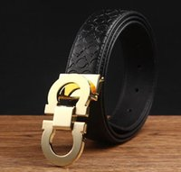 Wholesale Brand designer mens belt men brand belt luxury style real leather belts for men metal buckle genuine leather f belt male strap