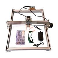 Wholesale LY MW Blue Violet Mini DIY Laser Engraver IC Marking Printer Carving