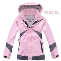 Wholesale Hiking Jackets Ladies Jackets Mountaineering Outdoor Hunting Fishing Camping Waterproof Breathable Jacket Two piece Travel