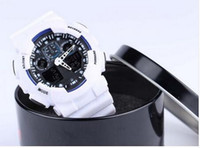 Wholesale Hot Newest Men GA110 Sports Watches unisex AUTO DATE Waterproof wristwatches Luxury Digital Watch with box