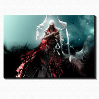 assassin poster - Assassins creed brotherhood Art Painting Drawing Picture Canvas Poster Home Bar Pub Garage Art Decorative Print Canvas Painting