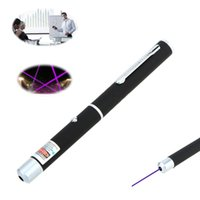 Wholesale car New Hot mW Pen Shaped Single Point LED Purple Red Green Beam Laser Pointer Pen for Work Teaching Training