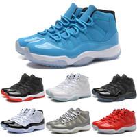 Wholesale 2016 New Retro Basketball Shoes Men Women High Cut Cheap Online S XI Authentic Hot Sale Sports Shoes Size