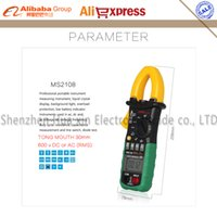 ac current capacitor - Digital Multimeter MS2108 Amper Clamp Meter Current Clamp Pincers AC DC Current Voltage Capacitor Resistance Tester