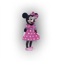 Wholesale 2015hot wedding Minnie Mascot Costume Pink Minnie Mouse Mascot Costume