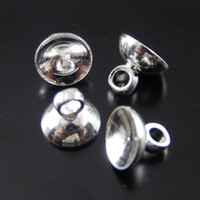 antique pot lids - 10pcs Antique Silver Pot Lid Alloy Pendant Charm Jewelry Making mm jewelry making