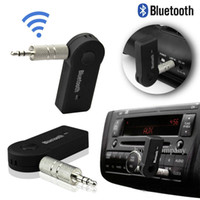 Wholesale 1pcs Bluetooth Music Audio Stereo Adapter Receiver for Car AUX IN Home Speaker MP3 Hot Worldwide