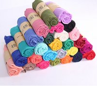 Wholesale 2016 new autumn and winter Korean version of pure color cotton and linen scarf women s wild scarf shawl monochrome gifts