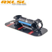 Wholesale New Arrival RXL SL Racing Package Carbon Bicycle Stem Mountain Bike Parts Carbon Stand Blue Color mm