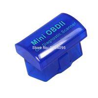Wholesale Latest Version V2 Super for MINI ELM327 Bluetooth OBD OBD2 Wireless ELM Multi Language Kinds Works ON Android Torque PC