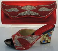 amazing slipper - Amazing Royal blue Italian Matching Ladies Slipper And Bag Set For Wedding And Party ME2217