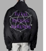 acrylic mouse - Sponge mice New sup vetements winter warm jacket back pentacle embroider women men jacket coat out streetwear MA1 jacket with tags