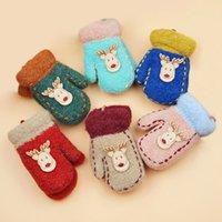 best kids mittens - Best Sale Children Gloves Cute Deer Kids Winter Thicken Warm Mittens Boy Girl Mitts Christmas Gloves Random Color VF0052