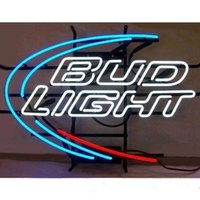 Wholesale BUDLI BUD HANDICRAFTED NEON SIGN REAL GLASS TUBE NEON LIGHT BEER LAGER BAR PUB CLUB X14