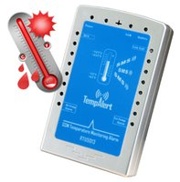 alarms reports - GSM SMS Temperature Monitoring Alarm RTU5013 High Low Temperature Alarm Interval Report Onsite Temperature with SMS freeshipping