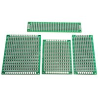 Wholesale New Arrival Hot Sale Double side Protoboard Circuit Prototype DIY PCB Board x8 x7 x6 x7cm Promotion