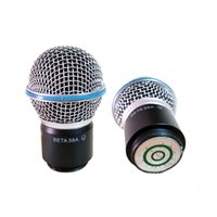 Wholesale Free Professional Wireless Microphone Handheld MIC Beta58a Beta a Head Capsule Grill for PGX24 SLX24