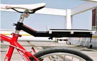 Wholesale Cycling Carrier And pannier racks Adjustable aluminum Bike Rear Rack Carry Carrier Seatpost Mount Quick Release Bicycle pannier rack