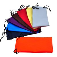 Wholesale Best Selling cm waterproof sunglasses pouch soft eyeglasses bag glasses case many colors mixed cm