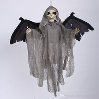 animated halloween skeleton - Sound Control Creepy Scary Animated Skeleton Hanging Ghost Halloween Party Decoration