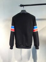 Wholesale 2016 autumn winter Fashion Brand Mens sweatshirts letter fashion brand jumper men top sweatshirts
