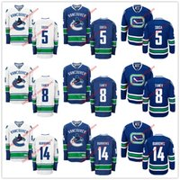 alexandre burrows - 2016 Ice Hockey Vancouver Canucks Jerseys Luca Sbisa Chris Tanev Alexandre Burrows