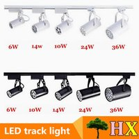 Wholesale Super bright W W W W W Led Track Lights Angle Warm Natural Cool White Led Ceiling Spot Lights AC V