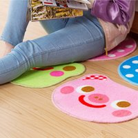 Wholesale cm Cute Pig Non Slip Bath Mat Microfiber Chenille Bathroom Mat and Toilet Rug Bedroom Door Carpet