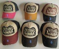 Wholesale 2016 New Amazing New Unisex Baseball Cap Cotton Motorcycle Cap Men Women Casual Summer Hat Colors