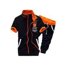Wholesale 2016New Arrival Summer Style Casual Sport Suit Men Summer Shorts Sets Short Sleeved Sweatshirt Shorts Sports Men s Suit