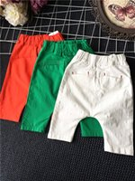 baby jogger brand - 2016 Summer Baby Clothes Boys Pants Harem Pants Casual Pants Middle Pants Shorts Short Trousers Children Boys Clothing Kids Joggers