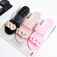 Wholesale 2016 new Melissa sandal Camellia summer sandals female flowers jelly slippers women floral shoes