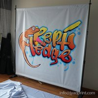 90*150 cm Polyester  230X230cm telescopic backdrop stands,Backdrop display banenr, adjustable size background display