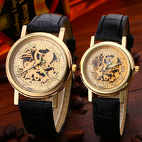 alloy department - Waterproof Titanium Hollow Imitation Watches Mechanical Watch New Department Store Supply Market Sell at A Loss